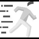 Laufende Person