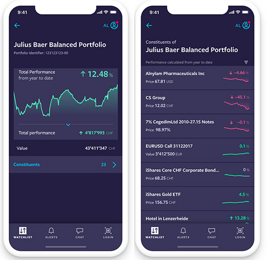 Screenshot aus der Benutzeroberfläche von Altoo auf einem Mobilgerät