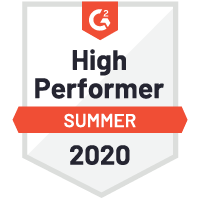 G2 - Checkmk High Performer 2020