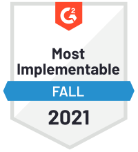G2 - Checkmk Most Implementable 2021